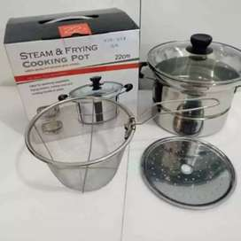 Ready cooking pot