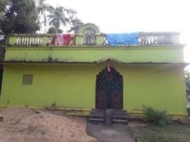 A semi furnished house at cuttack near kandarpur