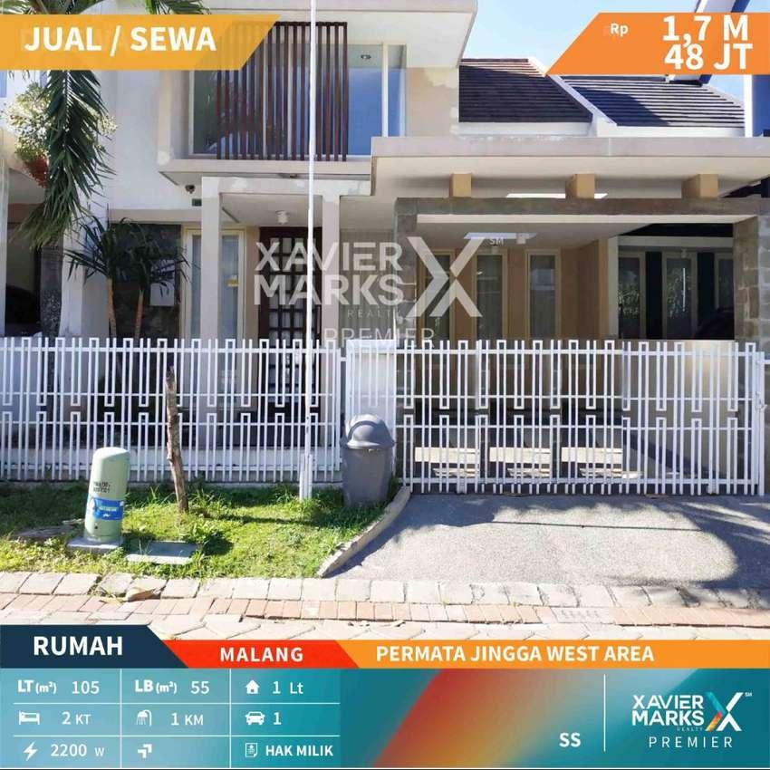 Dijual dan disewakan rumah di Permata Jingga West Area Malang