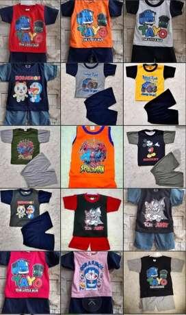 Kaos Stelan Anak 1 sampai 5 tahun