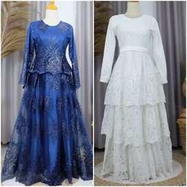 Dress Muslimah Walimahan