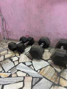 Gym equipments for sale rarely used