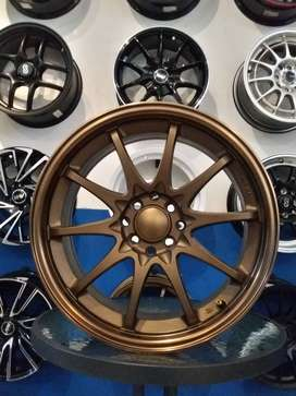VELG RACING MODEL CE28 RING17X8.0 PCD4X100/114.3 AVANZA VELOZ XENIA