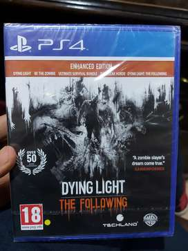 Daying light the following Enhanced Edition PS4 game