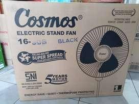 kipas angin berdiri/ stand fan cosmos 16inc 16 SDB (jantung acc)