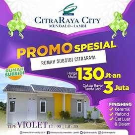 RUMAH SUBSIDI CITRARAYA CITY