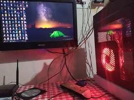 Gaming desktop for sell 8 GB graphics CPU