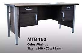 Meja 1 Biro 70x160 walnut MTB