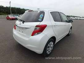 Toyota Vitz white full original fresh