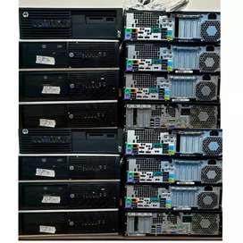 Good looking Hp cpu 500gb hard disk with all opt