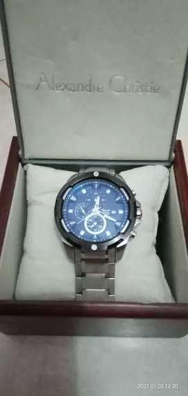 Jam tangan pria Alexandre christie 6305 MC