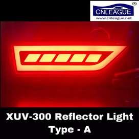 Xuv300 reflector light rear bumper light