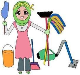 Di cari ART/pembantu rumah tangga