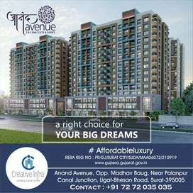 #₹51000 Only pay % 2BHK flat book/at Anand Avenue