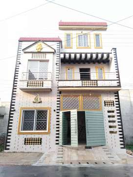 5 Marla owner brand new house for sale