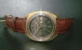 Jam Vintage Seiko bell matic gold micron original ( RARE )