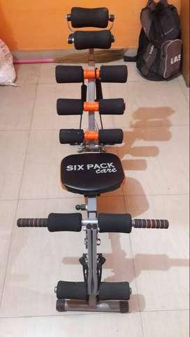 Abs workout cardio machine