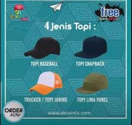 Bikin Topi Snapback Custom