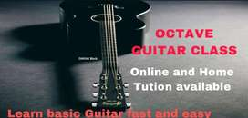 Octave Guitar class Online and Home Tution available