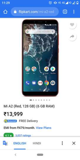 Mi A2 in very good condition