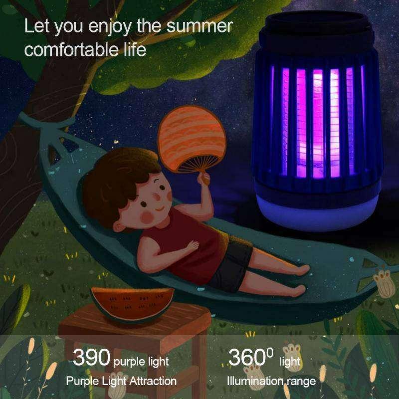 lampu anti nyamuk tenaga surya lampu pembunuh nyamuk solar