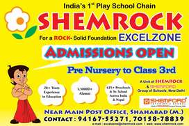 Required a pre primary teacher for play school located at Shahabad (M)
