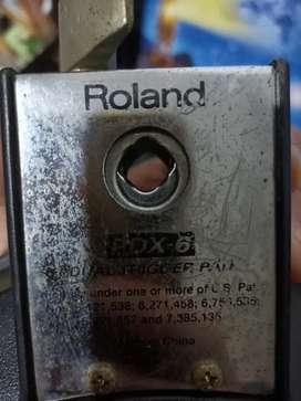 Pad roland drum elektrik pdx-6