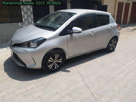 Vitz 2019 get on very easy monthly installment
