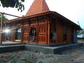 Pendopo Joglo kayu jati, Rumah Joglo dinding gebyok ukir dan Limasan