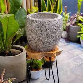 Pot Marble Terrazzo Large