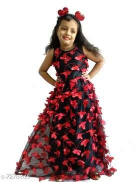 Barbie girls butterfly dress