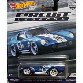Hot wheels Hotwheels Shelby Cobra Daytona Coupe Circuit Legends