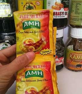 Minuman Jahe Merah AMH 1 renceng - Gratis Ongkir Area Sawojajar