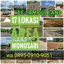 Jual tanah murah dkt universitas negeri Yogyakarta (de campus land)