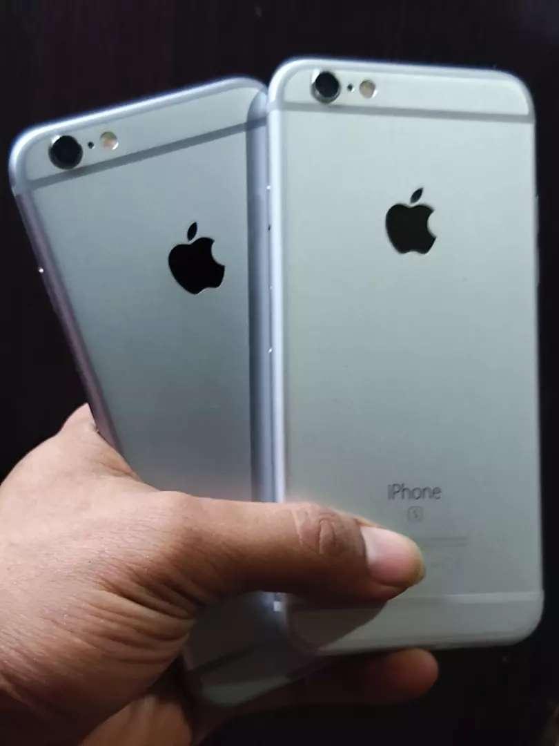Iphone 6s 64gb Fullset Mulus 0