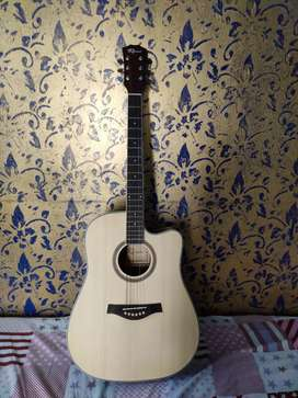 Acoustic Guitar of the RUISON. it contains in brand new condition