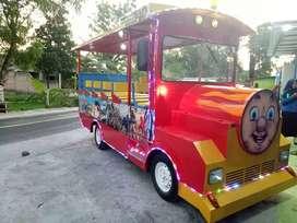 kereta mini wisata odong ND singa genjot pony cyclee
