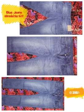 Blue Shaded Jeans of Size 36-37. Slightly