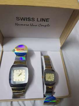 Swiss line watch made in london pair