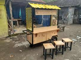 Rombong/booth portable