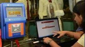 delhi metro token counter