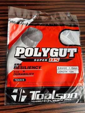 Grosir Senar Raket Tennis / Tenis Polygut Super 115 Toalson