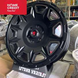 Velg ring 20 FUEL METHOD 6Lubang Pajero Fortuner Hilux Triton dll