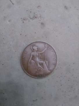 Old Coin 1921