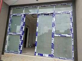 Kusen aluminium pintu jendela almini cendela geser sliding pintu kaca