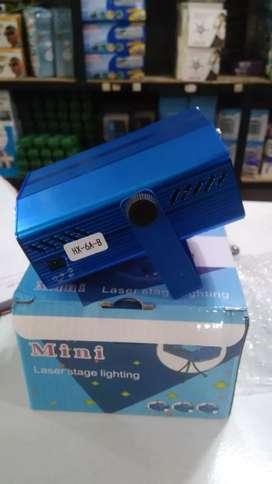 Mini Laser Stage Lighting/ Laser Sensor Musik Disco