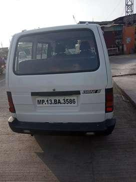 Maruti Omni white colour