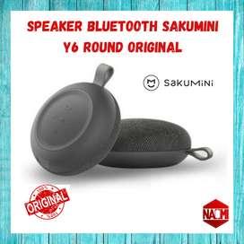 Speaker bluetooth sakumini Y6 round original