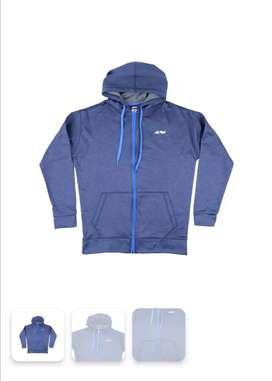 Jaket sweater REI ventura biru size L Original discount