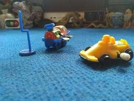 Tintoys and plastic toys jadul
